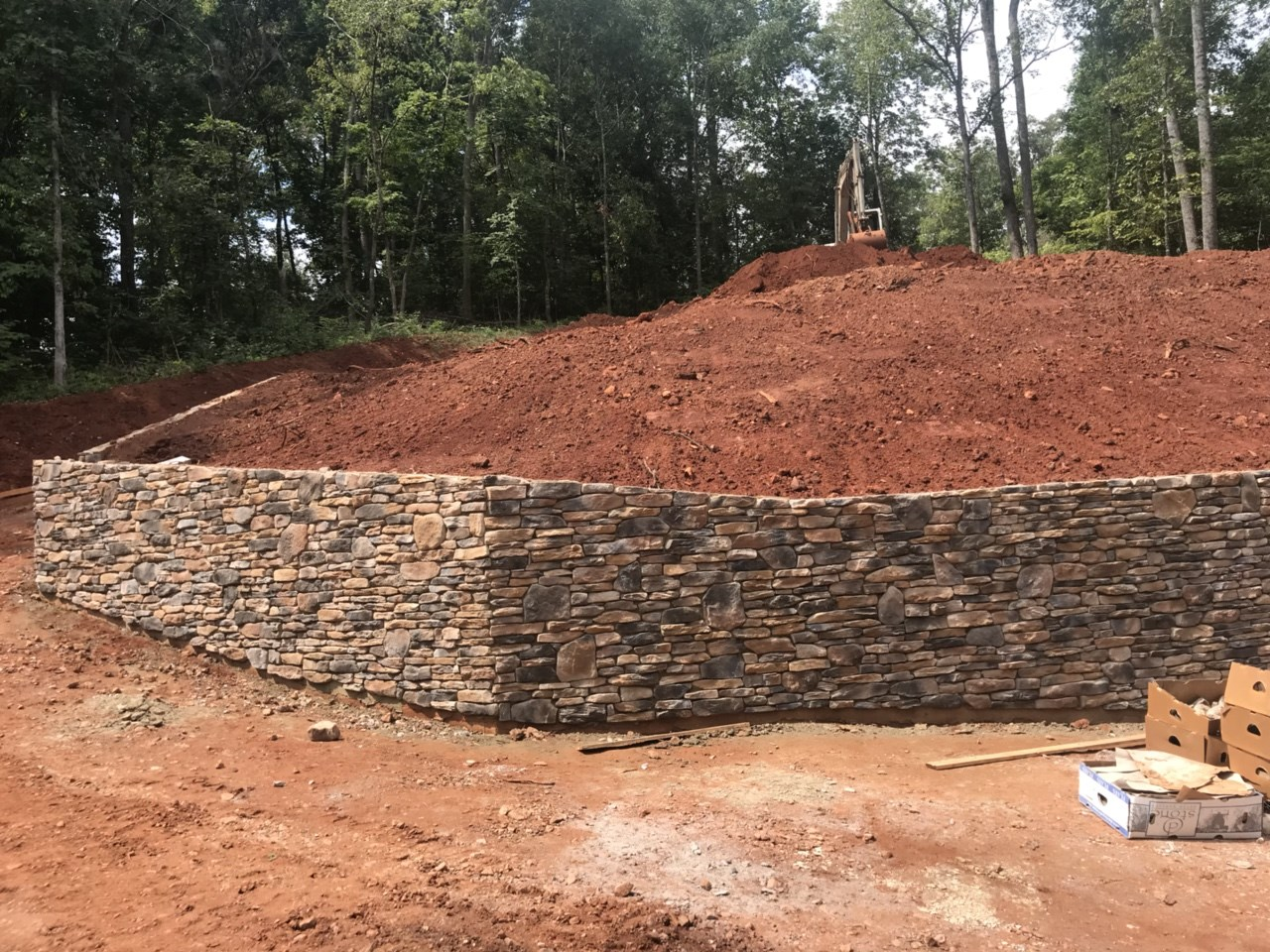 5-retaining walls with stone
